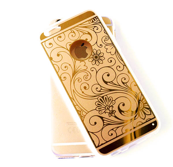 Kryt iPhone 6 Plus Golden Case silikonové zlaté
