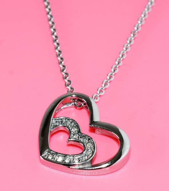Náhrdelník ocel srdce cz777.cz A-8  b751d7c7e54