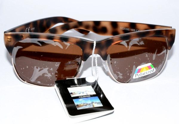 Brýle sluneční polarizované cz777.cz hnědé